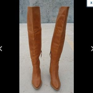 Matisse Over The Knee Tall Cowbo Boot Sz 6.5